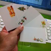 Wordで作るメッセージカード