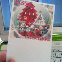 Wordで作る簡単クリスマスカード