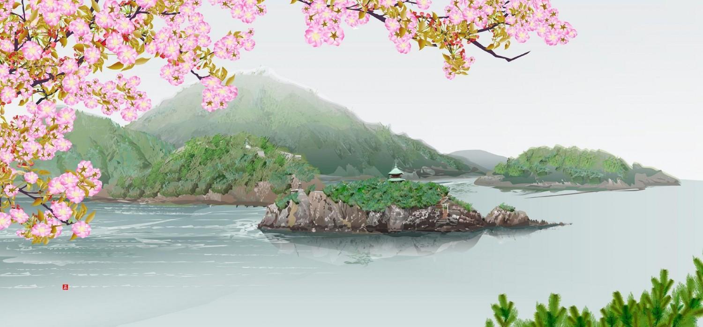 堀内辰男さんがExcelで描いた絵