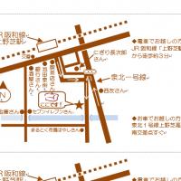 Wordの図形で作る地図
